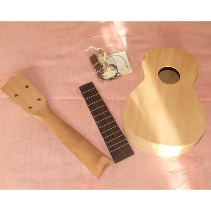 make your own ukulele diy kit japanese quality luthier initiation. Black Bedroom Furniture Sets. Home Design Ideas