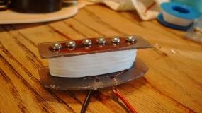 Modificar um pickup de guitarra