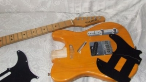 Restauro de Guitarra Hamer