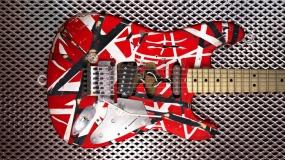 Pintar Guitarra-Van Halen Style