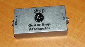 Atenuador para amplificador de Guitarra