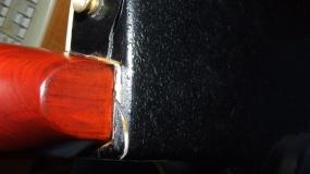 Guitarras partidas- A azarenta
