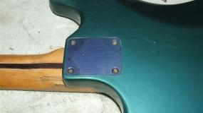 As guitarras Vintage podem mudar de cor