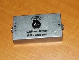 Guitar amp Attenuator