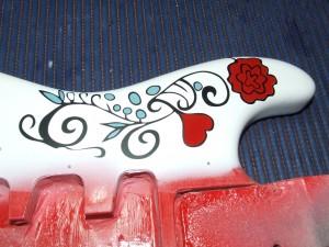 Pintura da Fender strat  monterrey
