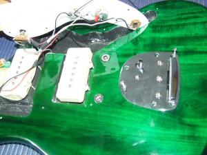 Squier Jazzmaster  Pintar guitarra (1)