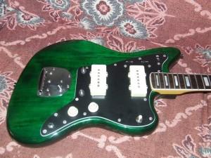 Squier Jazzmaster  Pintar guitarra (2)