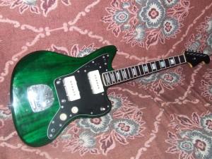 Squier Jazzmaster  Pintar guitarra (3)
