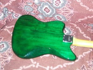 Squier Jazzmaster  Pintar guitarra (4)