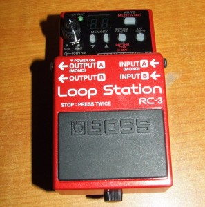 BOSS Loops station RC-3