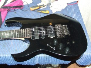 Ibanez with fernandes sustainer