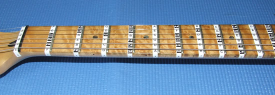 FRETBOARD NOTE STICKERS ...