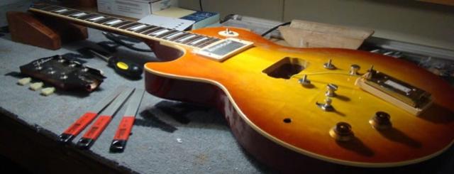 Reparação de Guitarras e outros instrumentos de Cordas